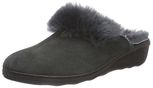 Romika - Romilastic 306, Pantofole da donna, grigio (anthrazit 700), 38