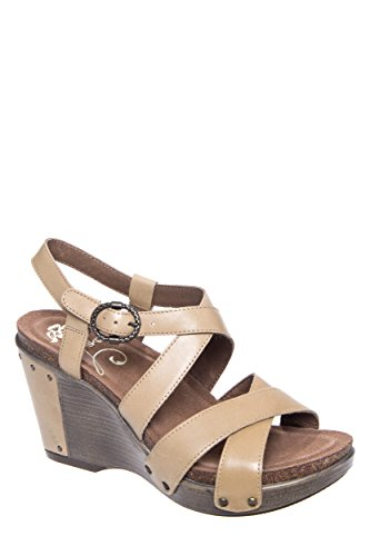 Dansko Frida High Wedge Ankle Strap Sandal