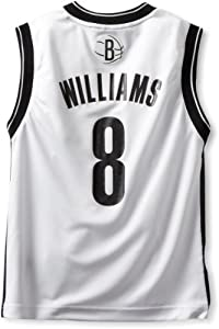 NBA Brooklyn Nets Deron Williams Youth 8-20 Replica Home Jersey, Medium, White