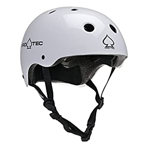 Protec The Classic Skate Helmet - Gloss White