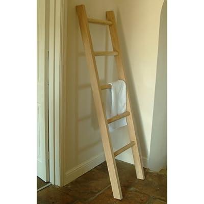 Garden Trading Raw Oak Towel Ladder