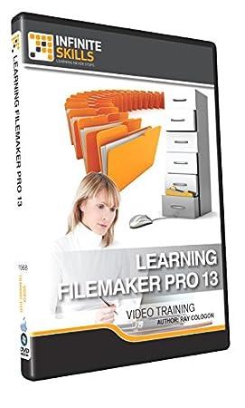 Learning FileMaker Pro 13 - Training DVD