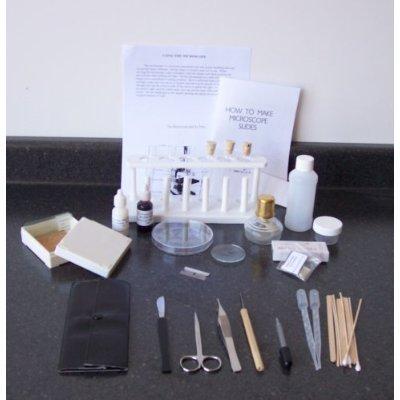 Microscope Accessory Set & Basic Biology Lab Equipment