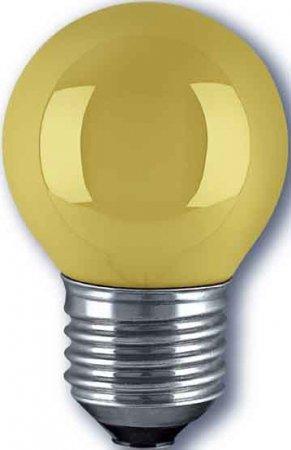 Tropfenlampe E27 25W gelb (pro Stück)