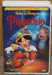 Amazon.com: Pinocchio (60th Anniversary Edition) [VHS