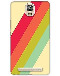 MobileGabbar Gionee Marathon M5 Plus Back Cover Printed Designer Hard Case