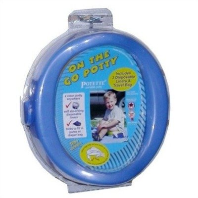 On the Go Potty in Blue Color: Blue