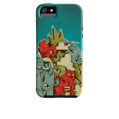 Case-Mate Iphone 5 Tough Case - David Cuesta Bits-O-Beats Case - Retail Packaging - Multi
