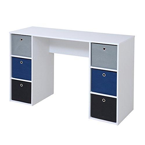 JKプラン Folding box series Desk TYPEB ホワイト BDC-0182-WH