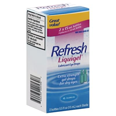 Refresh Liquigel Lubricant Eye Drops 1 Fluid - 2 x 0.5 Ounce each