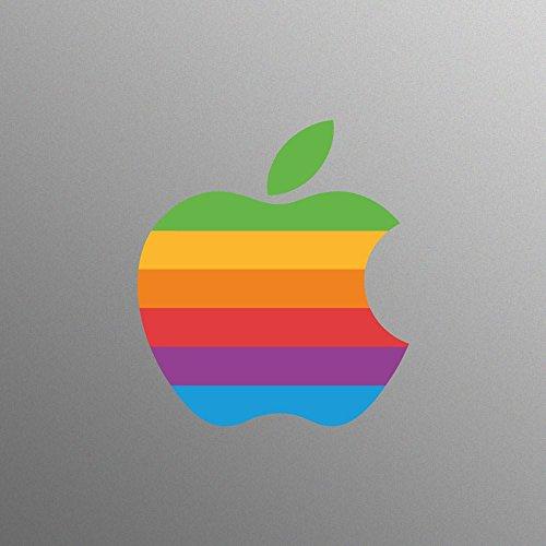 Retro Apple-Logo-Aufkleber-für