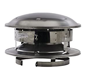 Selkirk Metalbestos 8t-ct 8-inch Stainless Steel Round Top from Jensen (Home Improvement)