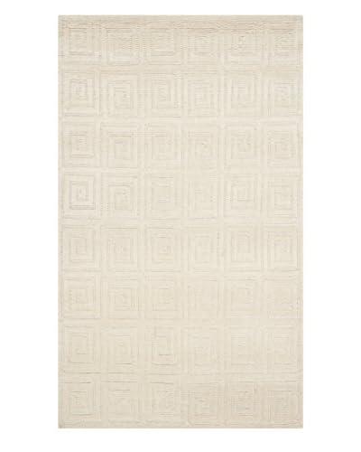 Safavieh Tibetan Rug, Ivory, 6' x 9'