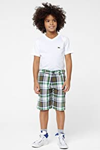 Boy's Plaid Bermuda Short