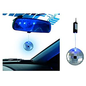 Simoni Racing - Boule à facette MIRROR LED BALL leds Bleu 41neUHI15UL._SL500_AA300_