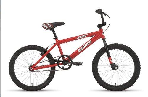 SE Bronco Freestyle Bike 20 Stoplight Red