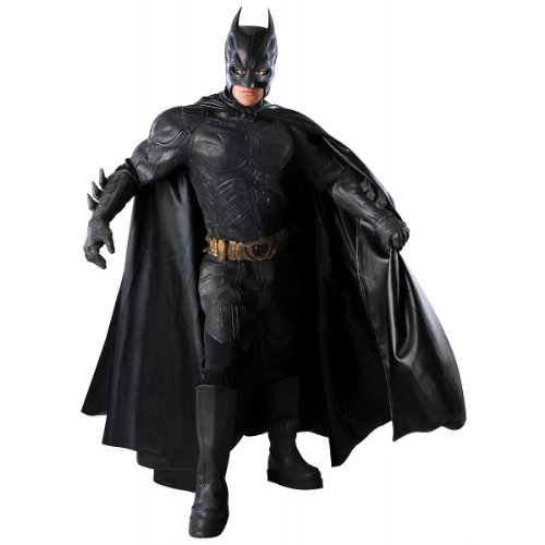 Super Deluxe Batman The Dark Knight Costume - Large - Chest Size 42-44