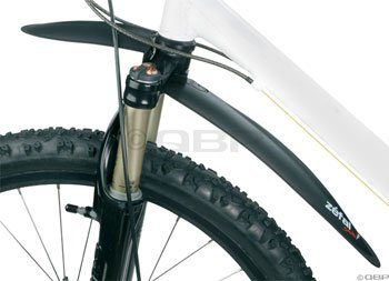 Zefal Swan Mountain Bicycle Fender (Black, Front)