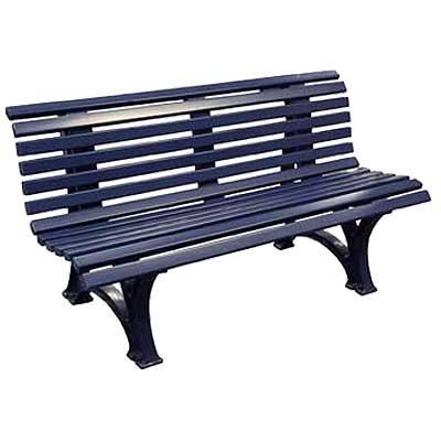 gartenbank kunststoff bank blau 3er reviews gartenb nke online shop. Black Bedroom Furniture Sets. Home Design Ideas