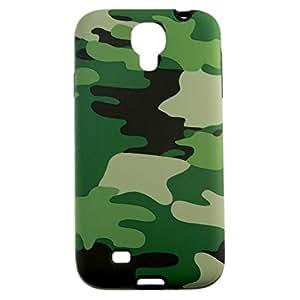 Military Wild Camo Pattern Hard Durable Grade Silicone Case ForSamsung Galaxy S4 I9500