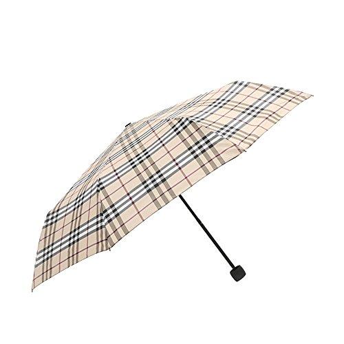 Japace® Ombrello Pieghevole Antivento Leggero e Compatto Perfetto sia per Donne che Uomini Lunghezza da Chiuso 24 cm Diametro 96cm