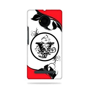 alDivo Premium Quality Printed Mobile Back Cover For YU Yunique / YU Yunique Printed Back Cover (3D-AK-AD048)AK-AD048