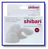 Shibari Magic Wand Triad Attachment Triple Stimulation Points Fits Most Wand Massagers Including Hitachi
