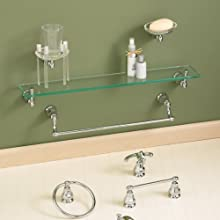 American Standard 6028.230.002 Dazzle Toilet Paper Holder, Polished Chrome