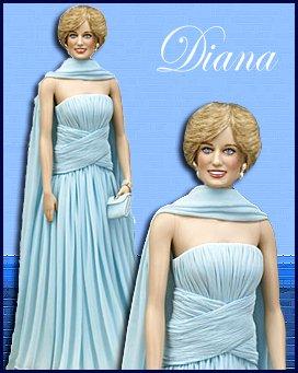 Franklin Mint Princess Diana Blue Chiffon Vinyl Doll - Buy Franklin Mint Princess Diana Blue Chiffon Vinyl Doll - Purchase Franklin Mint Princess Diana Blue Chiffon Vinyl Doll (Franklin Mint, Toys & Games,Categories,Dolls,Fashion Dolls)