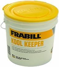 Frabill Kool Keeper Bucket 8-Quart WhiteYellow