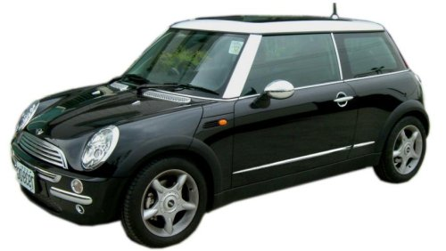 Chrome trim accessories mini cooper 2001 06 complete exterior chrome trim kit Mini cooper exterior accessories
