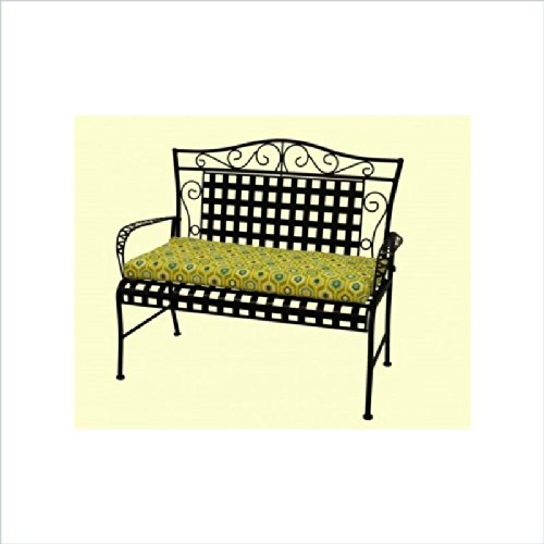 Blazing Needles Outdoor Standard 5 Ft. Patio Bench Cushion front-956546