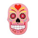 Nail filer Emery Borad Sugar skull Pink personal care makeup Nails girly funky thing