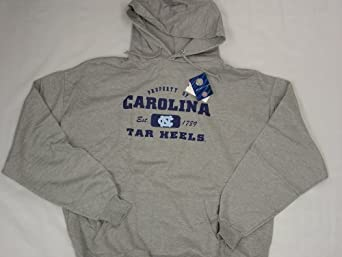 Univ of North Carolina Tar Heels Property Of Adult Hooded Sweatshirt by Jerzees