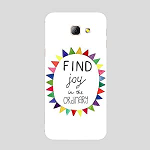 Back cover for Samsung Galaxy A5 2016 Find Joy in the Ordinary