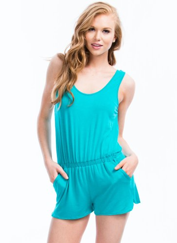 Keep It Simple Romper front-838690