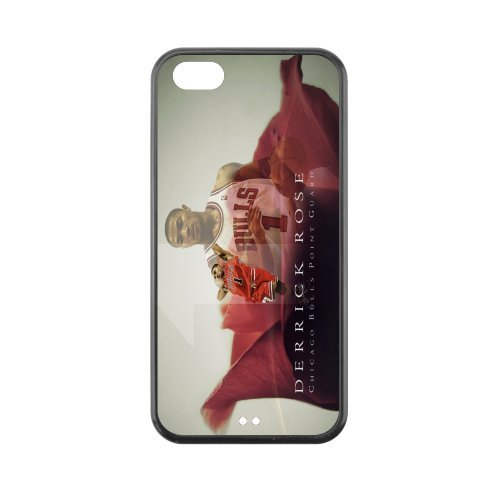 Chicago Bulls Derrick Rose plastic hard case skin cover for iPhone 5C AB637905 at Amazon.com