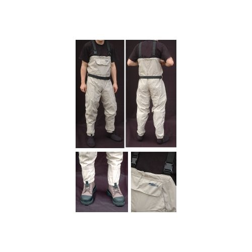 BISON BREATHABLE CHEST WADERS X-LARGE
