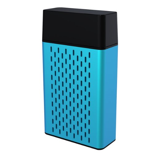 Hype Aluminum Bluetooth Portable Speaker For Iphone 5S Ipad Air/Mini,Samsung Galaxy S5/S4/Note And Tablets - Retail Packaging - Blue