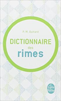 Dictionnaire Des Rimes Ldp Dictionn French Edition P