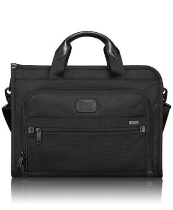(历史最低)途米Tumi Luggage Alpha Slim Deluxe Portfolio 阿尔法系列商务包149.00
