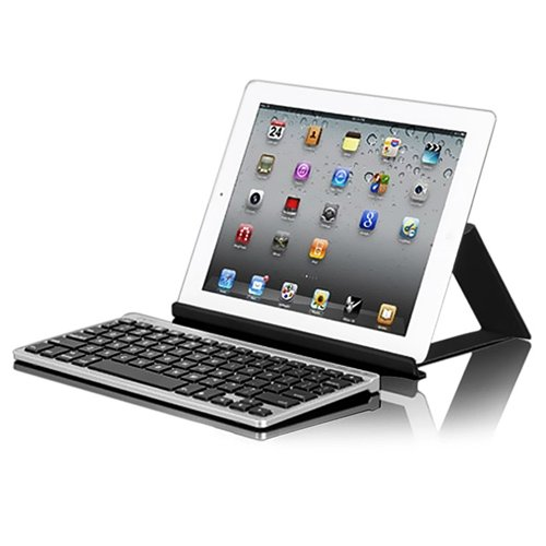 Zagg Keys Flex Wireless Bluetooth Tablet Keyboard and Stand for Smartphones and Tablets