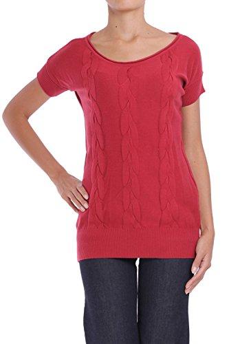 ANTA Q'ULQI - Pullover a maglia in cotone Tanguis MORENA - rosso, XL