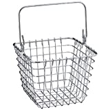 InterDesign Century Works Basket, 7 x 7, Chrome