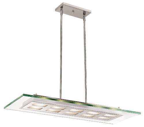 Access Lighting 50110-BS/CLR Aquarius Semi Flush Hanging Large Access Lighting B000NK9ALW