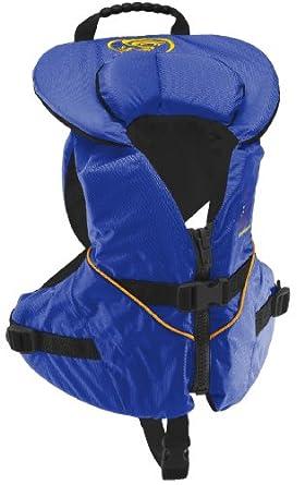 Stohlquist Unisex Infant/Toddler Nemo Infant Life Jacket/Personal Floatation Device (Blue/Black, Less Than 30-Pound)