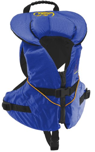 Stohlquist Unisex Infant/Toddler Nemo Infant Life Jacket/Personal Floatation Device (Blue/Black, Less Than 30-Pound)