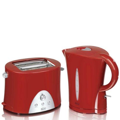 red kettle toaster sets home. Black Bedroom Furniture Sets. Home Design Ideas