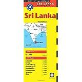 Sri Lanka Travel Map Third Edition (Periplus Travel Maps) (Periplus Travel Maps: Country Map)