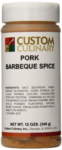Custom Culinary Barbeque Spice, Pork, 12 Ounce